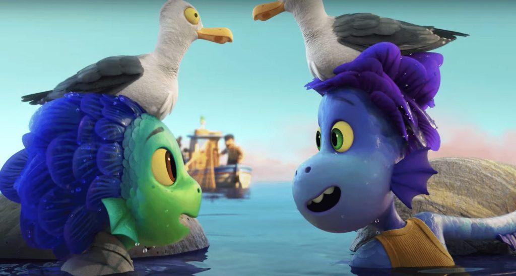 Luca film animazione Disney Pixar