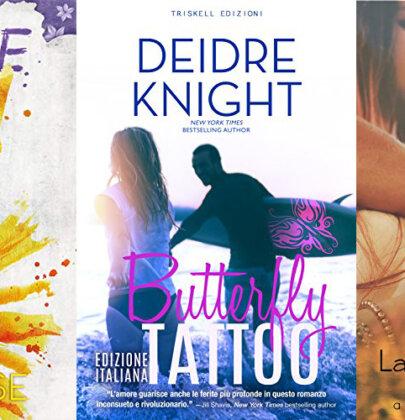 Nella biscottiera tre romanzi newadult: Invisible Sun – Butterfly Tattoo – La mia meravigliosa eccezione