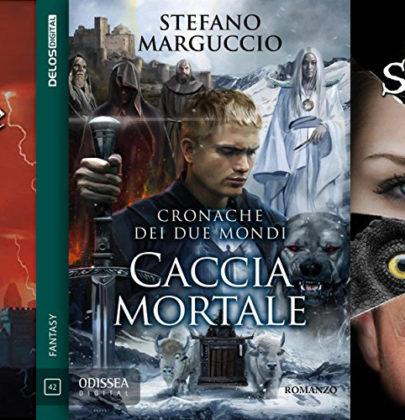 Nella biscottiera tre romanzi fantasy: Il re della luce. L'ordine degli dèi oscuri – Caccia mortale – Seven Dreams