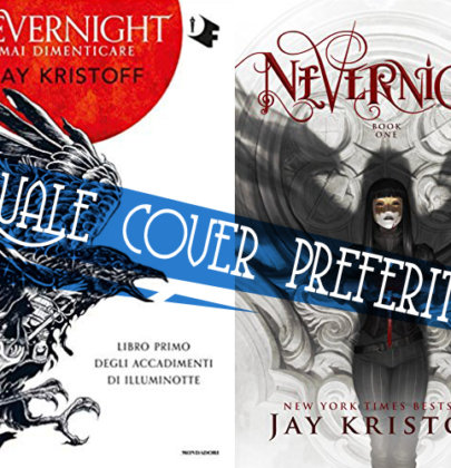 "Tazzine a confronto: cover italiana VS originale di ""Mai dimenticare. Nevernight"""