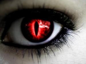 occhi rossi - le tazzine di yoko