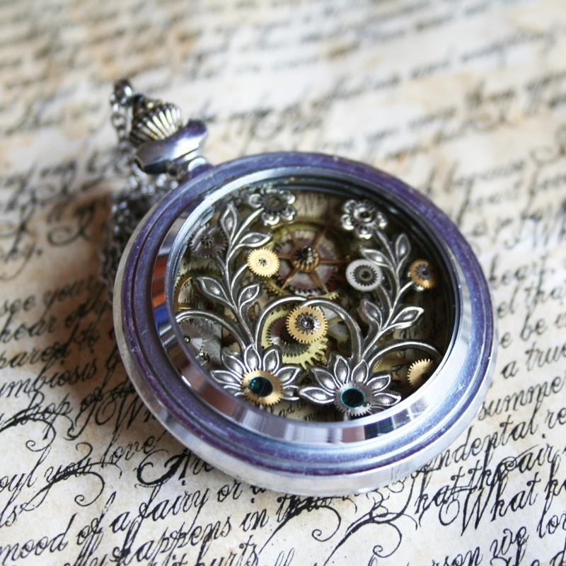 orologio steampunk-le tazzine di yoko