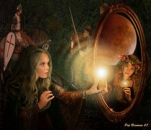 specchio magico - le tazzine di yoko