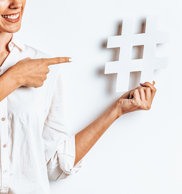studio scelta hashtag instagram social media le tazzine di yoko