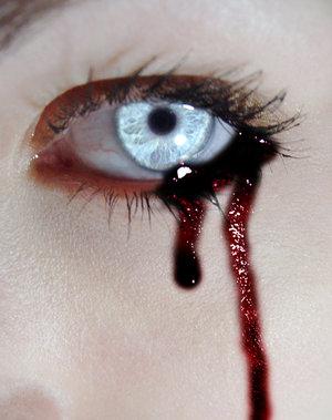 vampira sangue occhio-le tazzine di yoko